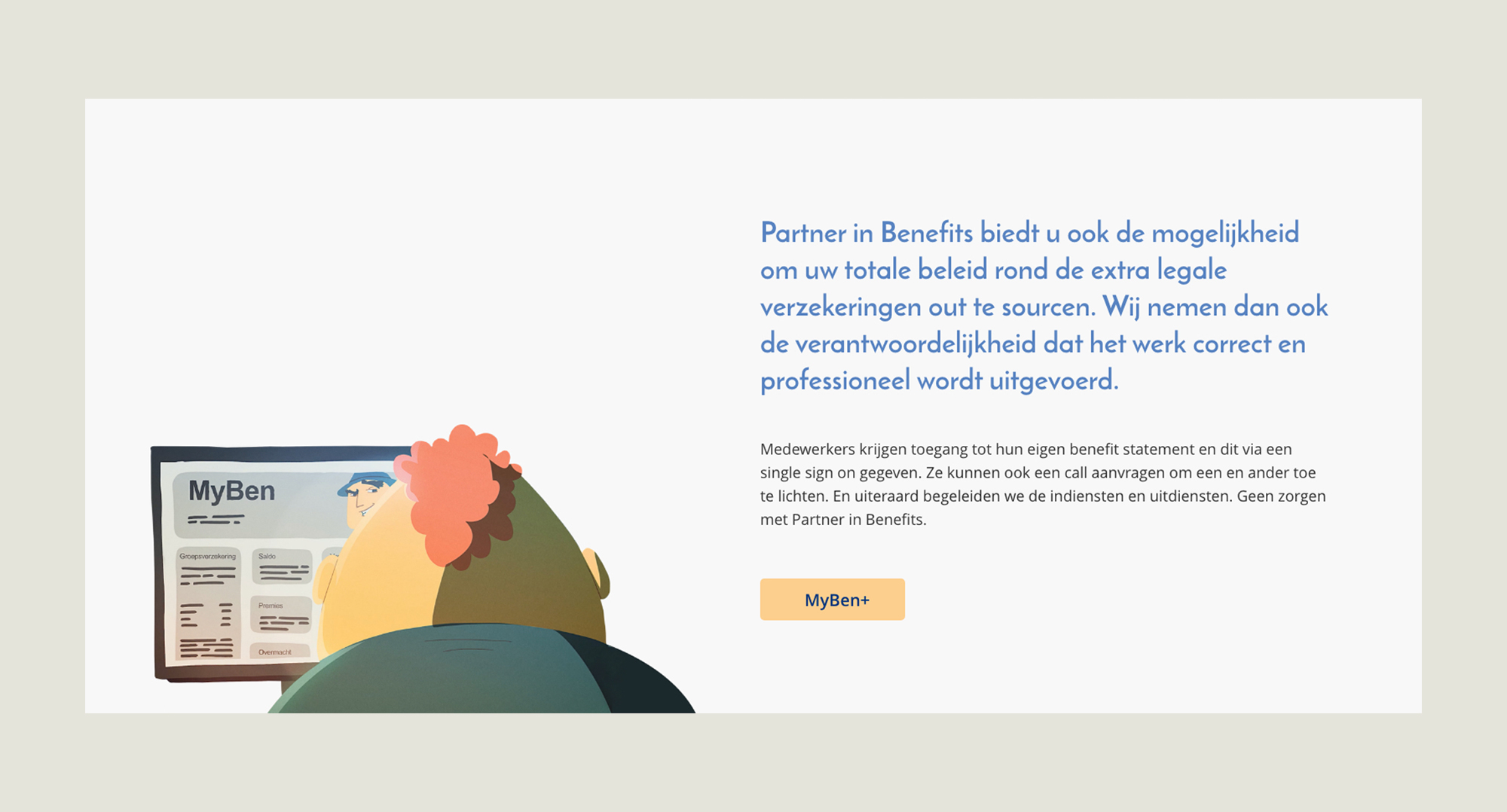 Partner in Benefits MyBen+ nieuwe website